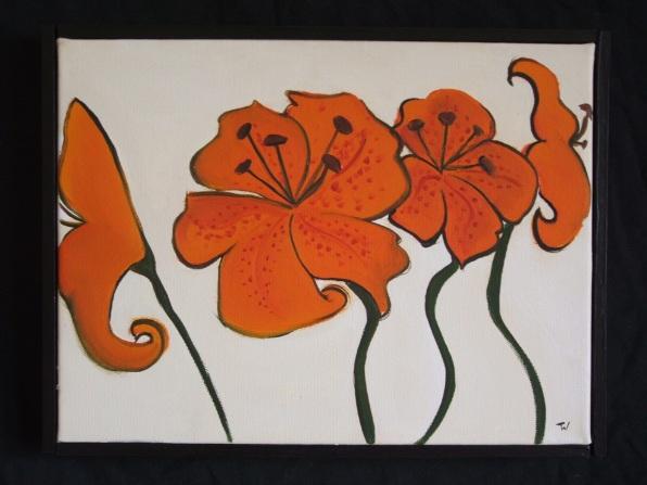 Flower Painting Series