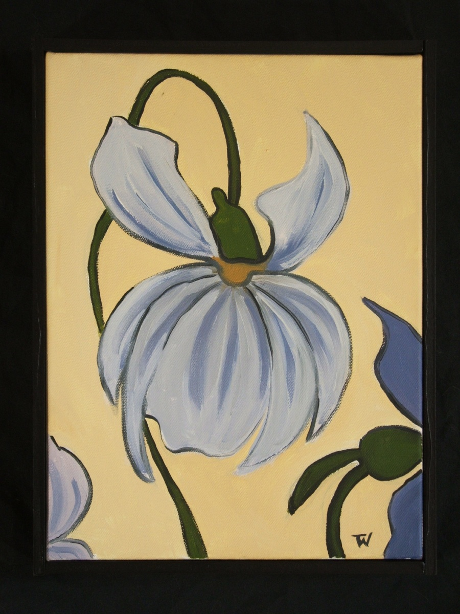 Flower Painting Series
