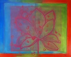 lotus and petals